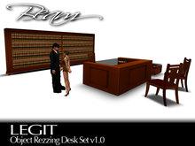 BEAM - LEGIT - Object Rezzing Office Desk Set v3.0
