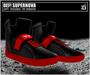 DEF! Unisex Sneakers / Supernova / Black & Red