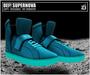 DEF! Unisex Sneakers / Supernova / Cyan