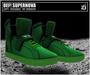 DEF! Unisex Sneakers / Supernova / Green