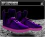 DEF! Unisex Sneakers / Supernova / Purple