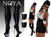 **NOYA** [MESH - PROMO] 50% off SALE - Fusion - Sky High Boots outfit Black