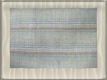 ::BnB:: Blue plaid beach rug