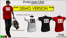 [Pu!se] Mens Tshirt DEMO - *RIGGED MESH*