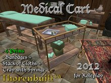 Thorenbuilt Medical Cart 2012 - 6 prims