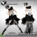 [AD] Funny clown burlesque dress 450
