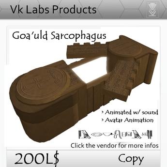 Goa'uld Sarcophagus [ tagScifi ]