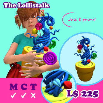[AMH] The Lollistalk - dark blue