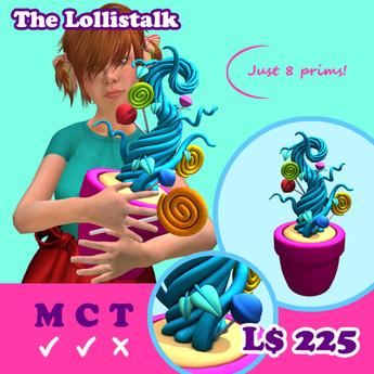 [AMH] The Lollistalk - light blue
