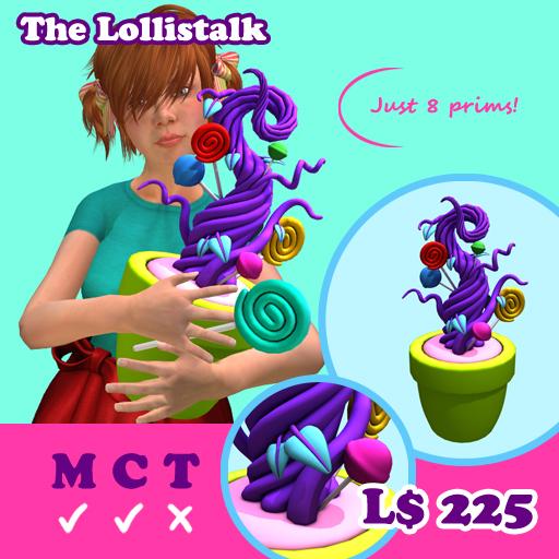 [AMH] The Lollistalk - purple