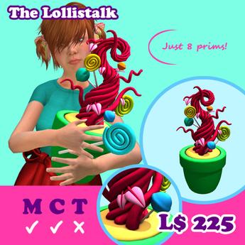 [AMH] The Lollistalk - red