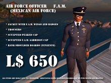 FAM Mexican Airforce Uniform