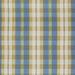 Fabric bluesky goldwhite plaidbrokenstripe z