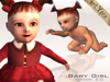 Baby girl ( Black eyes ) *ArtYpix*