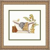 AFantasy ' Safari Soak ' Framed Bathroom Art