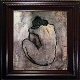 AFantasy Picassos Blue Nude Framed Artwork