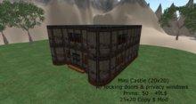 Great Looking Mini Castle (25x20)