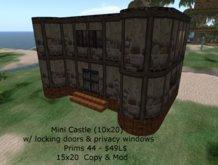 Great Looking Mini Castle (15X20)