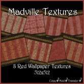 Madville Textures - Red Wallpaper Textures