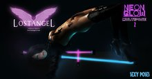 """[LA] LOSTANGEL """"The Neon Glow"""" - Multipose with props [Vers.2 Sexy Poses]"""