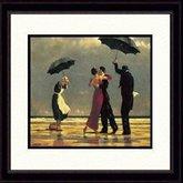 AFantasy The Singing Butler Framed Painting