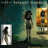 ~JJ~ Serpent Goddess - Lamia - Complete Avatar
