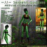~JJ~ Serpent Goddess - Medusa - Complete Avatar