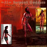 ~JJ~ Serpent Goddess - Stheno - Complete Avatar