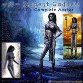 ~JJ~ Serpent Goddess - Tiamat - Complete Avatar