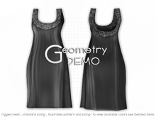 <Geometry DEMO> Roxie ( rigged mesh in standard sizing )