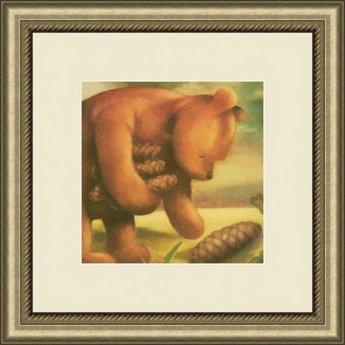 AFantasy Classic Pooh Framed Artwork