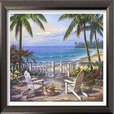 AFantasy Coastal View Framed Art - Style I