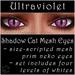 Ephemeral Neko - Shadow Cat Mesh Eyes (Ultraviolet)