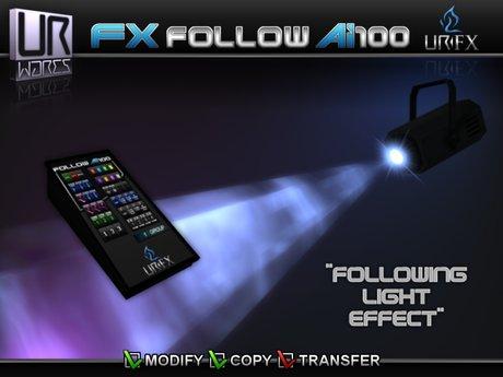 URW FX FOLLOW Ai100 Spotlight
