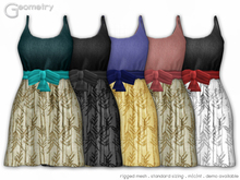 <Geometry> Ara( rigged mesh in standard sizing ) 5 Color Set