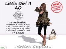 Gaeline Animations - Little Girl II AO : just for cute and fresh women or girls !