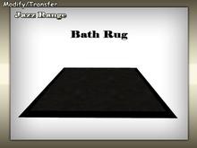 Satiated Desires: Jazz Black Rug