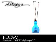 BEAM - FLOW - Illuminated Twig Lamp (Boxed) v2.0
