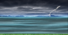 Animated Ocean Stormy Sky (updated version)