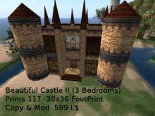 Great Looking Low Prim Castle (type II)