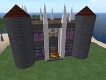 Great Looking Low Prim Castle