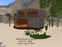 Small low Prim 2 Story Beach House