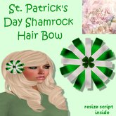Mercy's Bowtique St. Patrick's Day HairBow
