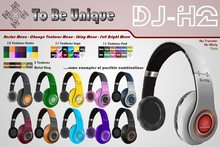To Be Unique - DJ-H2 * DJ Headphones (BOX)