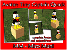 Avatar: Tiny Captain Quack