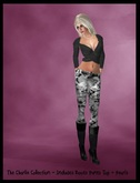 ♡ Bliss Designs Camo Pants Outfit ~ The #01 Camo Pants Outfit Includes The Leather Boots Pants, Shirt & More! Enjoy :)