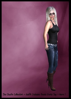 ☆ Women's Clothing, Costumes, Accesories & More ~ Casual Jeans Outfit ~ The Charlie Collection #45