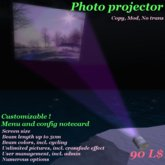 Photo projector