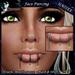 [10L$ PROMO] *P* Lucky You Face Piercing ~Black & Silver~