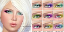 cheLLe (eyeshadow) Mix and Match